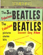 The Beatles Souvenir Song Albums Nos. 1 and 3 plus sheet music for Something